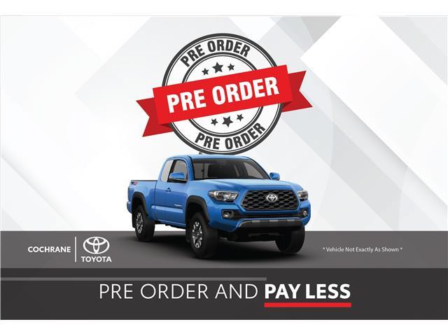 New 2021 - Tacoma TRD Sport Prem.  - Cochrane - Cochrane Toyota