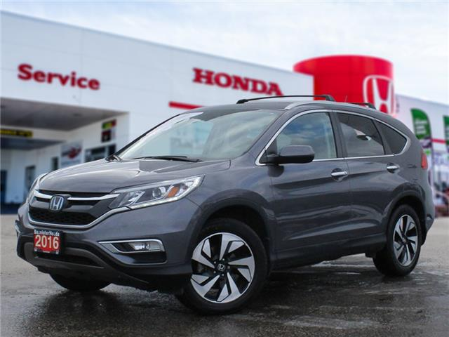 2016 Honda CR-V Touring (Stk: P21-008) in Vernon - Image 1 of 20