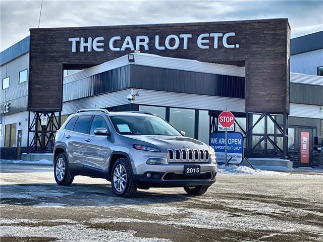 2015 Jeep Cherokee Limited (Stk: 20514) in Sudbury - Image 1 of 28