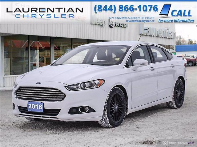 2016 Ford Fusion SE (Stk: P0188A) in Sudbury - Image 1 of 22