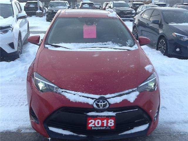 2018 Toyota Corolla LE (Stk: p20147) in Owen Sound - Image 1 of 10