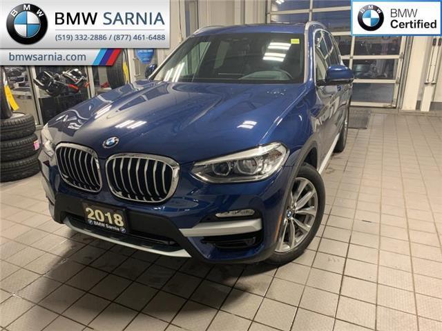2018 BMW X3 xDrive30i (Stk: XU382) in Sarnia - Image 1 of 11