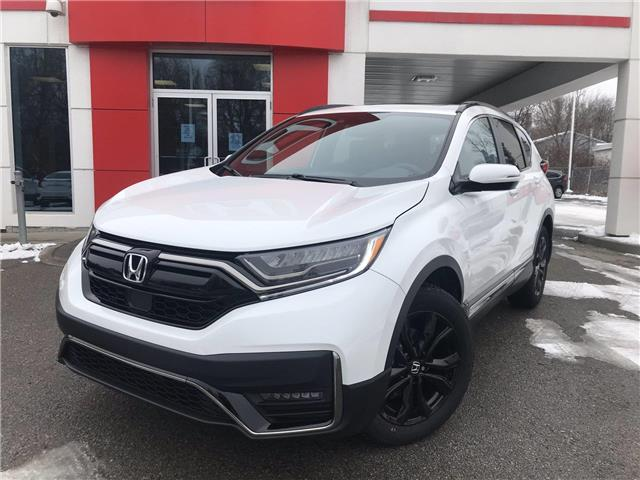 2021 Honda CR-V Black Edition (Stk: 11176) in Brockville - Image 1 of 26
