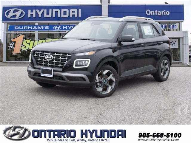 2021 Hyundai Venue Ultimate w/Black Interior (IVT) (Stk: 090967) in Whitby - Image 1 of 18