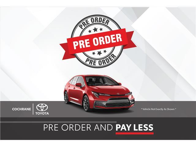 New 2021 - Corolla LE Upgrade CVT  - Cochrane - Cochrane Toyota