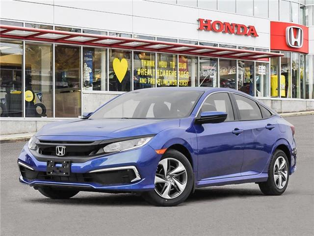 2021 Honda Civic LX (Stk: 3M78660) in Vancouver - Image 1 of 23