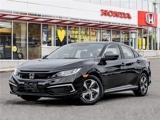2021 Honda Civic LX (Stk: 3M77160) in Vancouver - Image 1 of 23