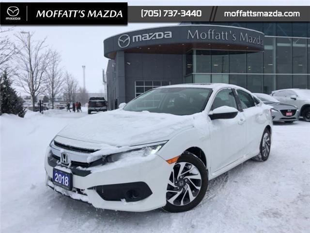 2018 Honda Civic EX (Stk: 28525) in Barrie - Image 1 of 22