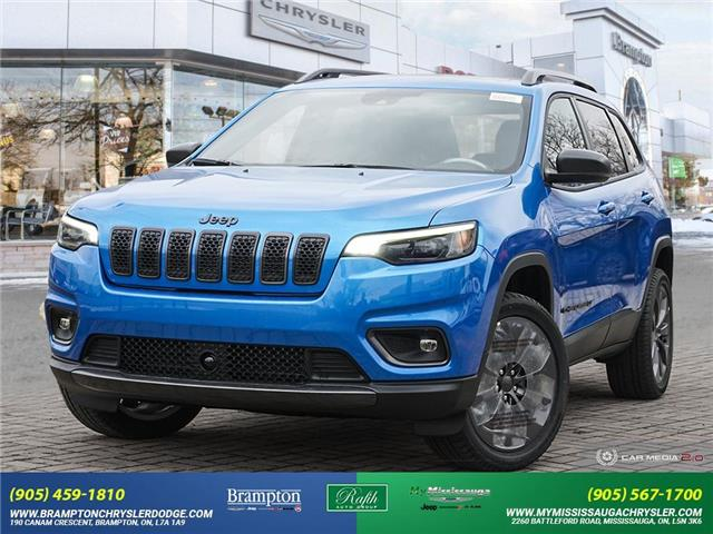 2021 Jeep Cherokee North (Stk: 21206) in Brampton - Image 1 of 30