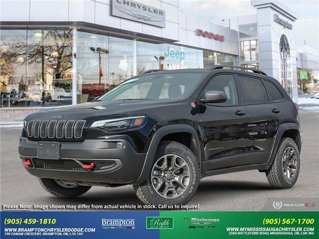2021 Jeep Cherokee Trailhawk (Stk: 21092) in Brampton - Image 1 of 20
