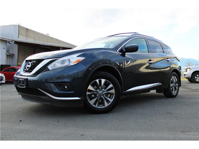 2016 Nissan Murano SV (Stk: N09-2850A) in Chilliwack - Image 1 of 17