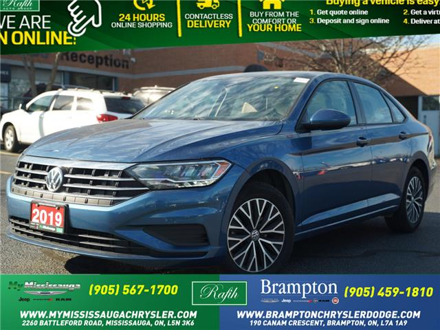 2019 Volkswagen Jetta 1.4 TSI Highline (Stk: 1233) in Mississauga - Image 1 of 19