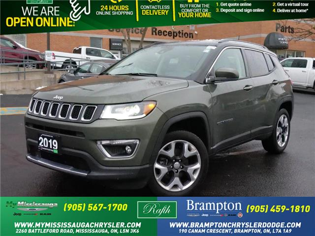 2019 Jeep Compass Limited (Stk: 1278) in Mississauga - Image 1 of 21