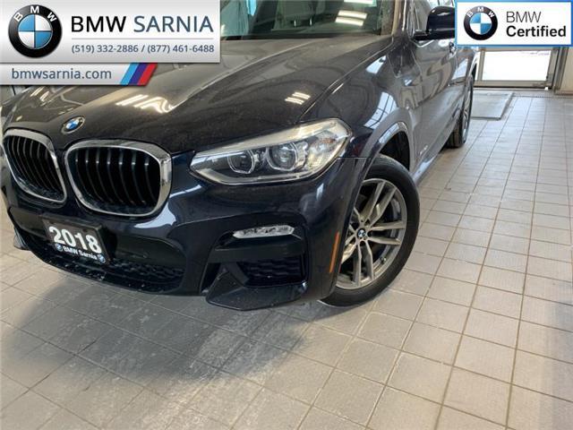 2018 BMW X3 xDrive30i (Stk: XU383) in Sarnia - Image 1 of 10