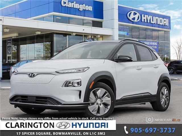2021 Hyundai Kona EV Preferred w/Two Tone (Stk: 20978) in Clarington - Image 1 of 24