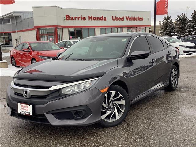 2017 Honda Civic EX (Stk: U17467) in Barrie - Image 1 of 28