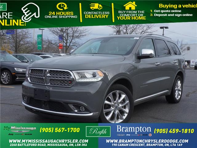 2019 Dodge Durango Citadel (Stk: 1211) in Mississauga - Image 1 of 21