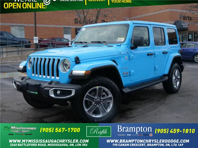2021 Jeep Wrangler Unlimited Sahara (Stk: 21198) in Mississauga - Image 1 of 6