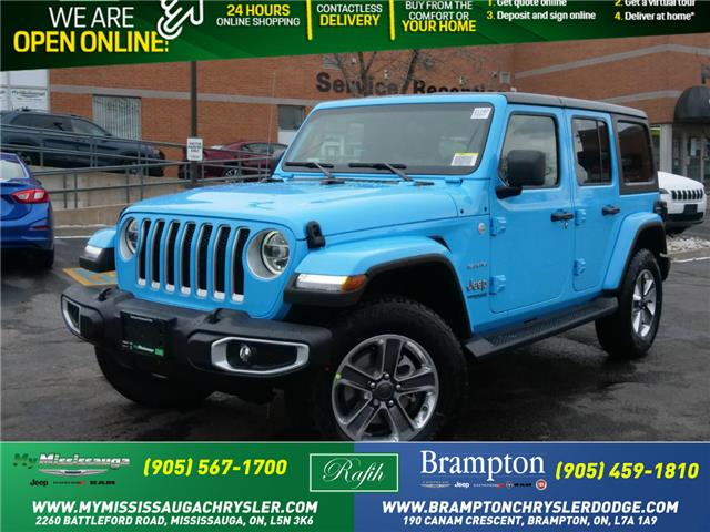 2021 Jeep Wrangler Unlimited Sahara (Stk: 21167) in Mississauga - Image 1 of 6