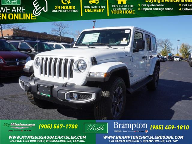 2021 Jeep Wrangler Unlimited Sahara (Stk: 21025) in Mississauga - Image 1 of 10