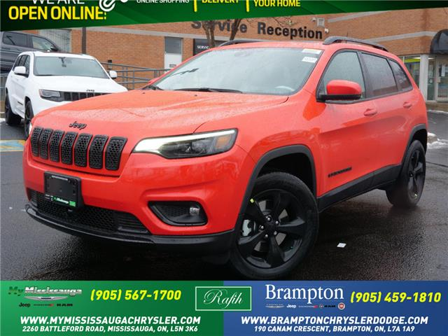 2021 Jeep Cherokee Altitude (Stk: 21139) in Mississauga - Image 1 of 6