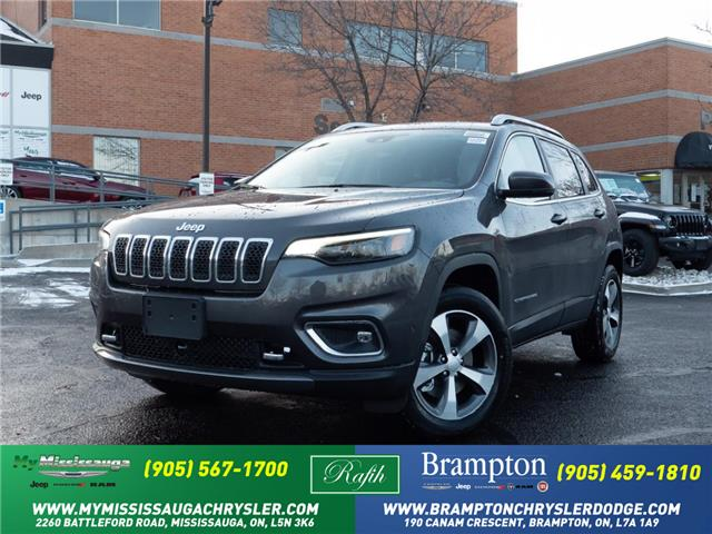 2021 Jeep Cherokee Limited (Stk: 21095) in Mississauga - Image 1 of 6