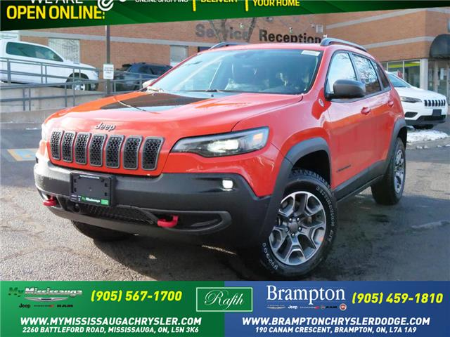 2021 Jeep Cherokee Trailhawk (Stk: 21090) in Mississauga - Image 1 of 6