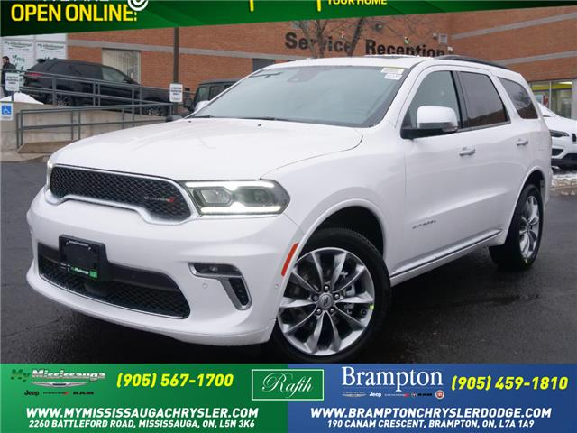 2021 Dodge Durango Citadel (Stk: 21143) in Mississauga - Image 1 of 6