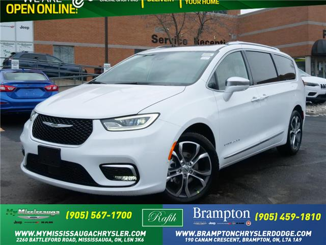 2021 Chrysler Pacifica Pinnacle (Stk: 21144) in Mississauga - Image 1 of 6