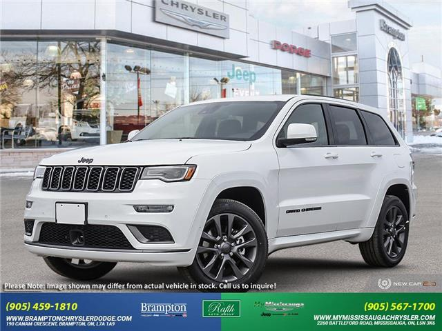 2021 Jeep Grand Cherokee Overland (Stk: 21468) in Brampton - Image 1 of 22