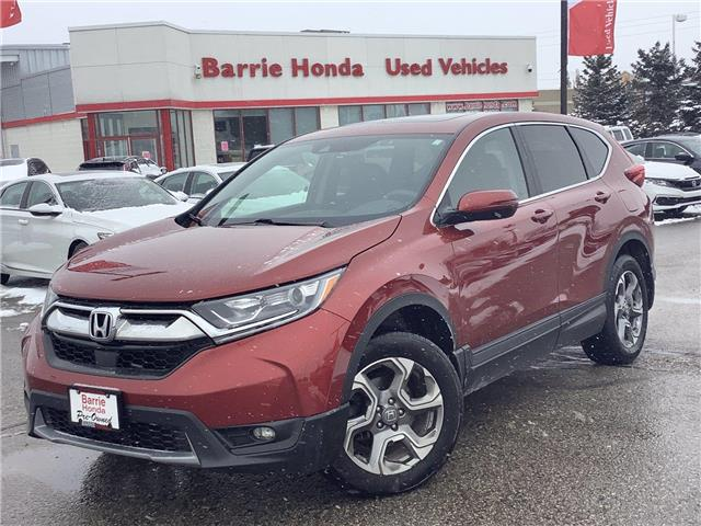 2017 Honda CR-V EX (Stk: U17477) in Barrie - Image 1 of 23