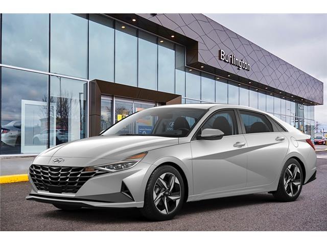 2021 Hyundai Elantra Preferred w/Sun & Tech Pkg (Stk: N2814) in Burlington - Image 1 of 3