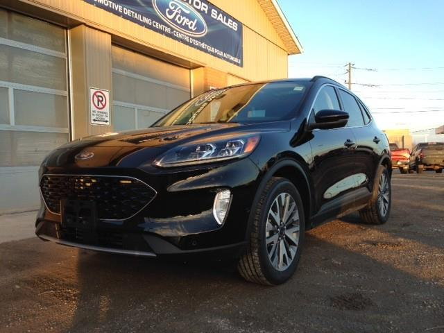 2020 Ford Escape Titanium (Stk: 20-523) in Kapuskasing - Image 1 of 14