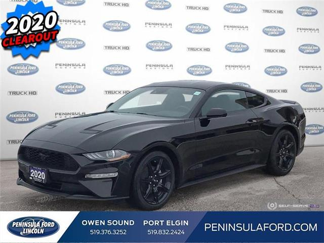 2020 Ford Mustang  (Stk: 20MU11) in Owen Sound - Image 1 of 25