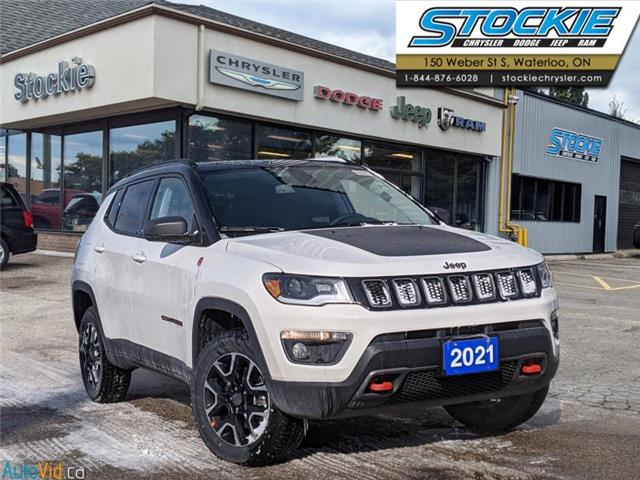 2021 Jeep Compass Trailhawk (Stk: 35747) in Waterloo - Image 1 of 16