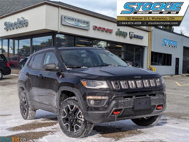 2021 Jeep Compass Trailhawk (Stk: 35771) in Waterloo - Image 1 of 16