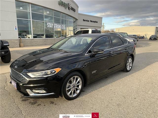 2017 Ford Fusion Energi SE Luxury (Stk: U04666) in Chatham - Image 1 of 29