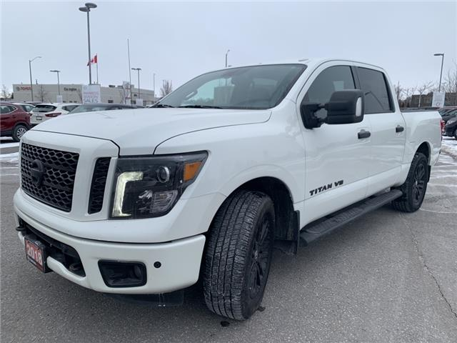 2018 Nissan Titan SV Midnight Edition (Stk: JN546367L) in Bowmanville - Image 1 of 14