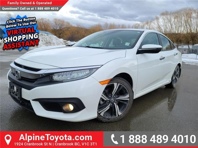 2016 Honda Civic Touring (Stk: W157287A) in Cranbrook - Image 1 of 26