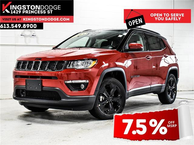 2021 Jeep Compass Altitude (Stk: 21J040) in Kingston - Image 1 of 30