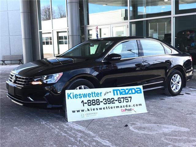 2017 Volkswagen Passat 1.8 TSI Trendline+ (Stk: U4111) in Kitchener - Image 1 of 27