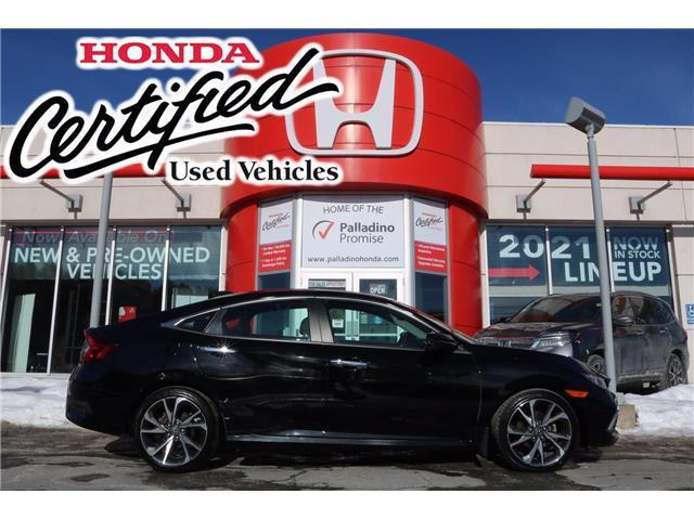 2019 Honda Civic Touring (Stk: U9886) in Sudbury - Image 1 of 38
