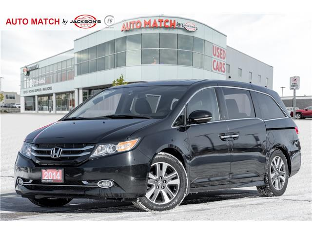 2014 Honda Odyssey Touring Nav Backup Cam Heated Seats Sunroof Rear Tv At 20558 For Sale In Barrie Jackson S Toyota