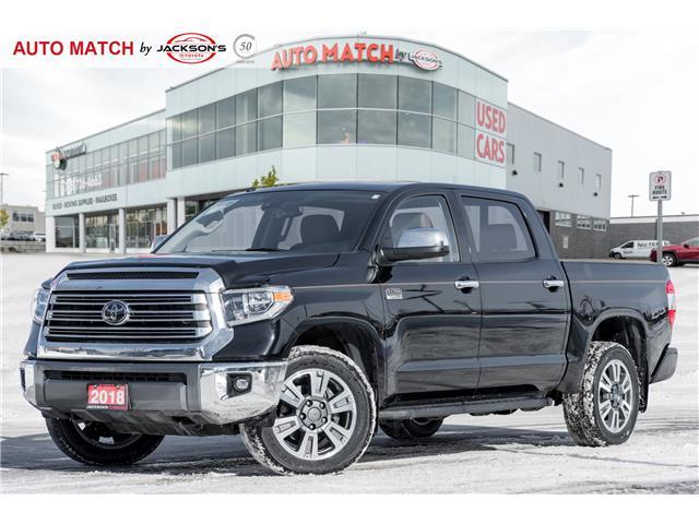 2018 Toyota Tundra Platinum 5.7L V8 (Stk: U9175) in Barrie - Image 1 of 29