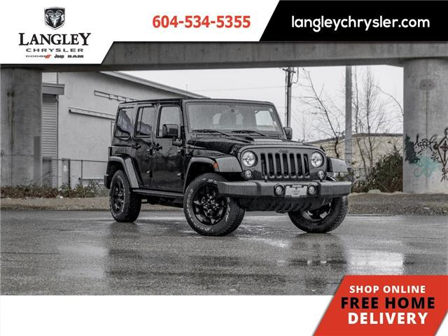 2015 Jeep Wrangler Unlimited Sahara (Stk: M562350A) in Surrey - Image 1 of 20
