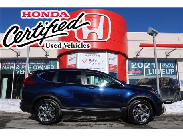 2019 Honda CR-V EX-L (Stk: U9878) in Sudbury - Image 1 of 38