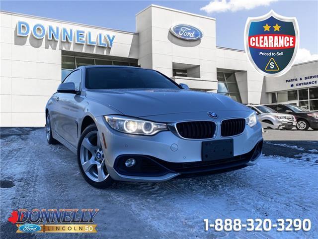 2014 BMW 428i xDrive WBA3N5C58EK196054 CLDU6703A in Ottawa