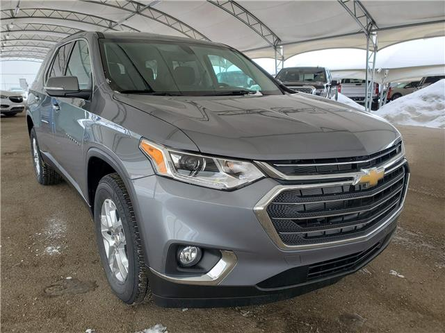 2021 Chevrolet Traverse LT Cloth (Stk: 188877) in AIRDRIE - Image 1 of 29