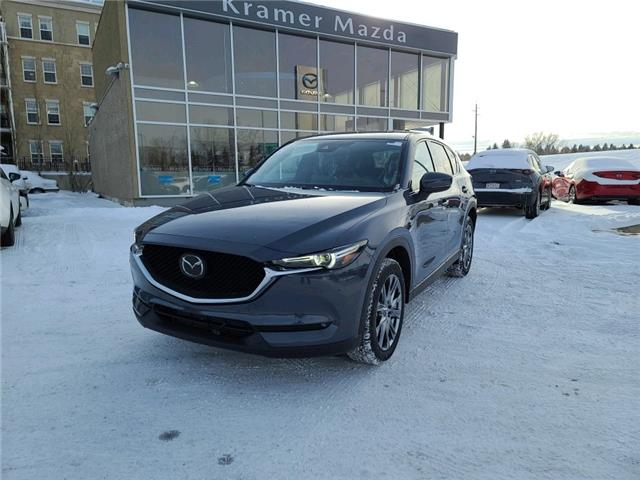2021 Mazda CX-5 Signature (Stk: N6458) in Calgary - Image 1 of 4