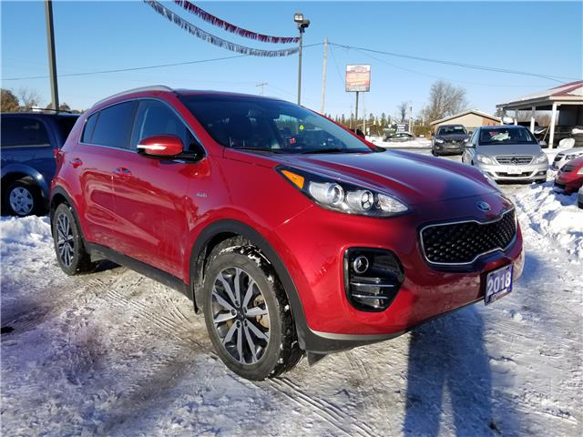 2018 Kia Sportage EX Tech (Stk: ) in Kemptville - Image 1 of 17